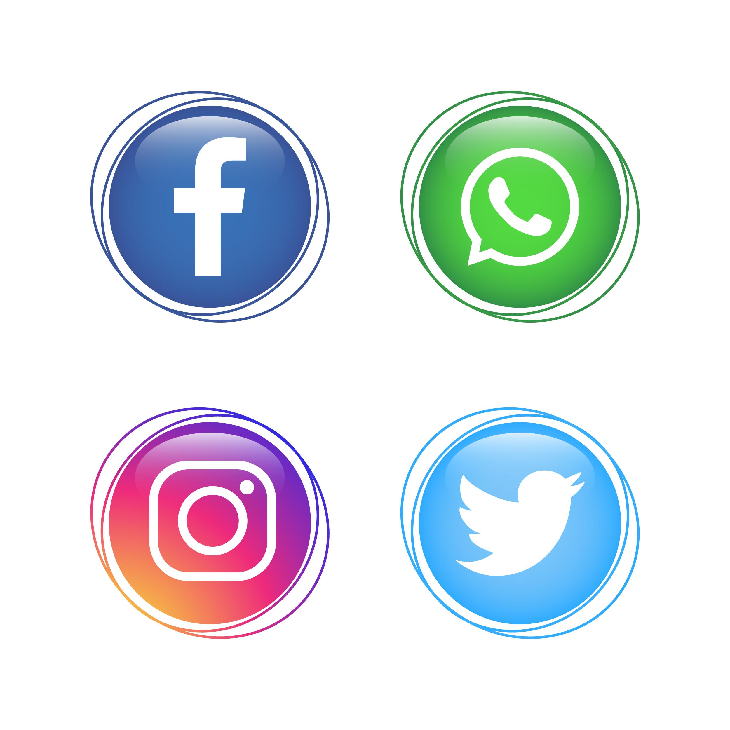 社群icon 免費下載 | 天天瘋後製