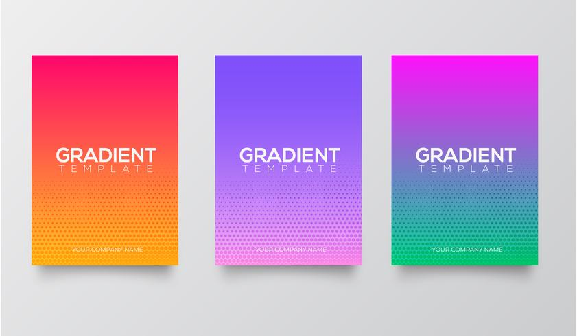 Gradient template collection vector