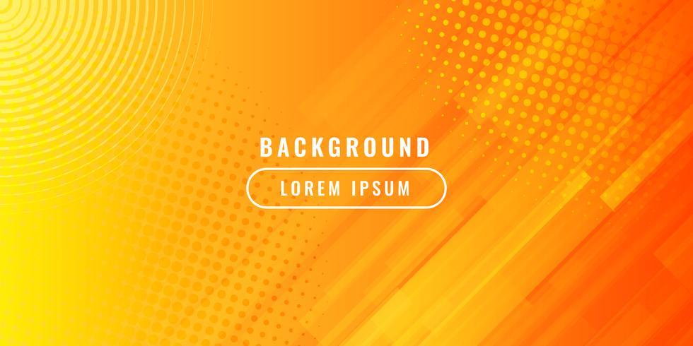 Dynamic textured orange background vector