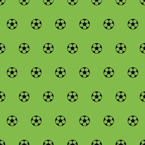 soccer ball pattern, seamless for use as wallpaper vector