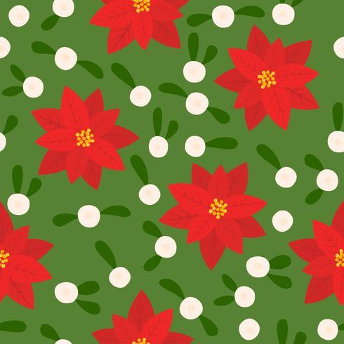 naadloze bloemmotief, plat ontwerp voor gebruik als achtergrond, inpakpapier of behang