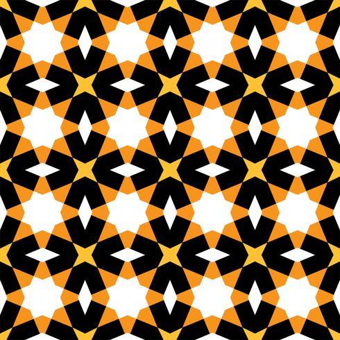 geometric seamless pattern Islamic style vector