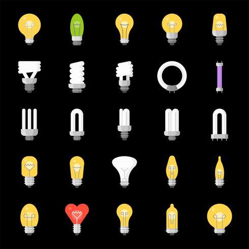 Different Lightbulb vector