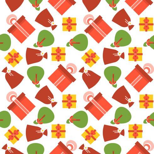 Nahtloses Muster der Geschenkbox, geeignet für Geschenkpapier,