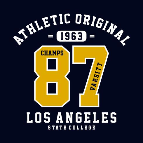 champs varsity graphic design for t shirt print other uses