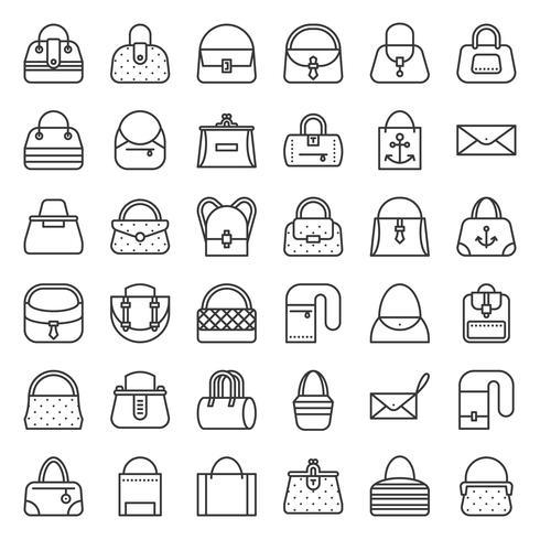 Borsa di moda di vario tipo come borsa con telaio, borsa, borsa eco, botte, jeans