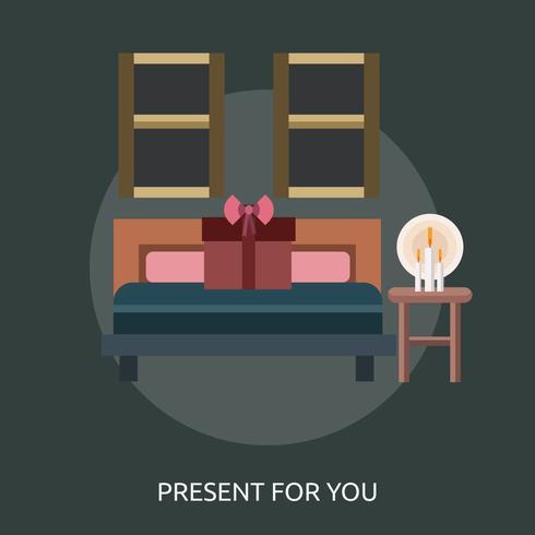 Present For You Conceptuele afbeelding ontwerp