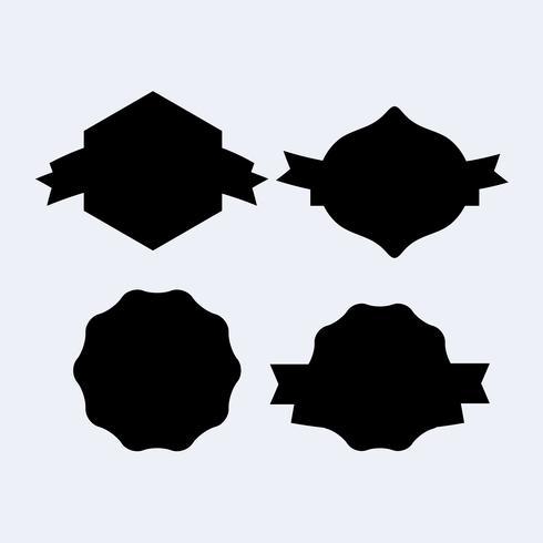 Bandeira de escudo de heráldica