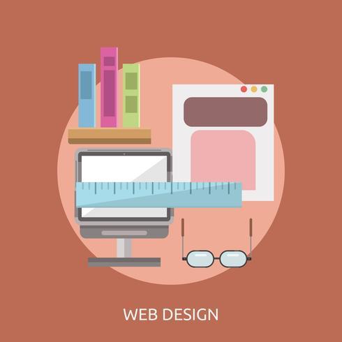 Webdesign Konceptuell illustration Design