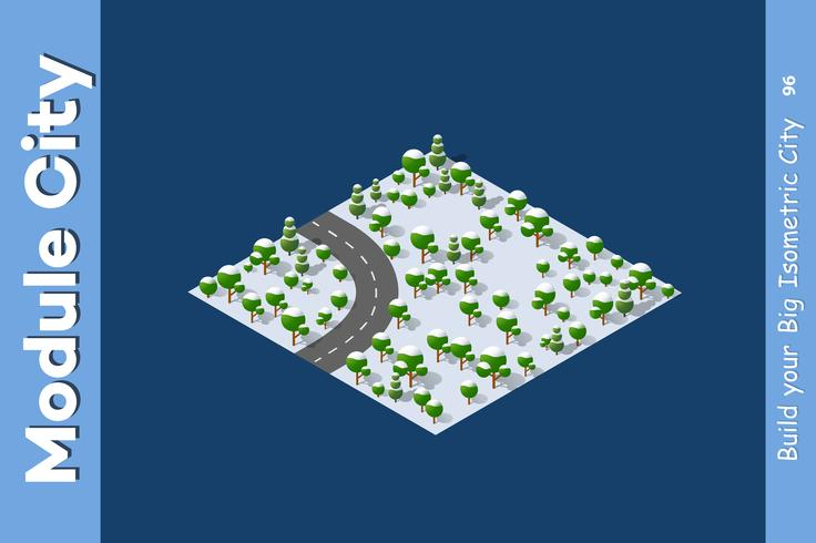 landschapssnelheid snelweg vector