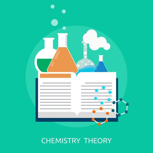 Template Complex Icon 479. Chemistry Theory Conceptual Design