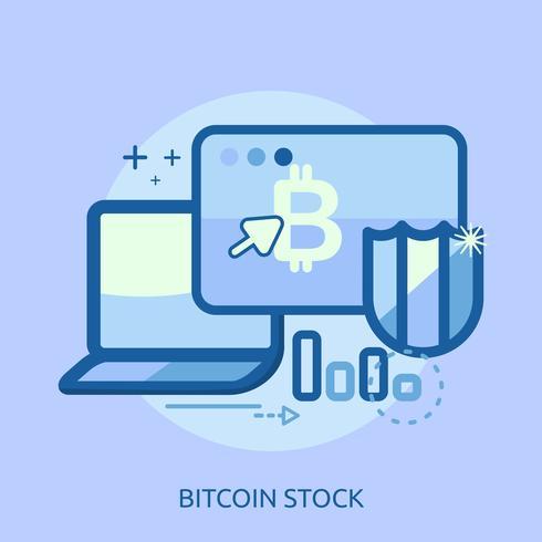 Euro Stock Conceptual Ilustración Diseño