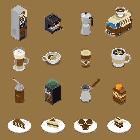 Coffee Isometric Set