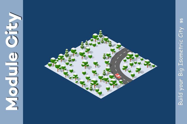 autoroute de paysage