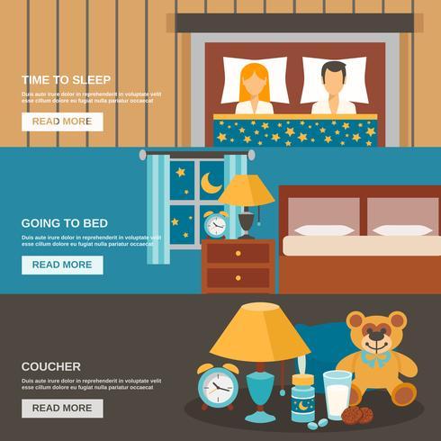Sleep Time Banner Set