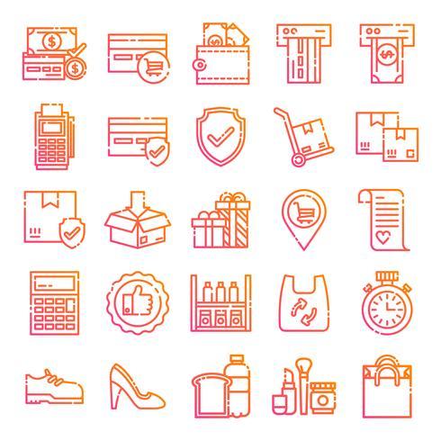 Pack de iconos al por menor