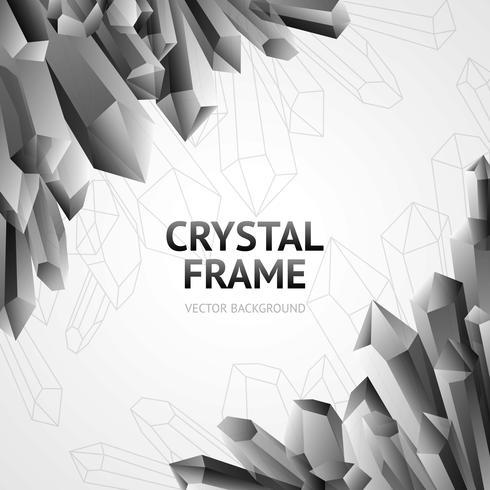 kristal mineralen frame