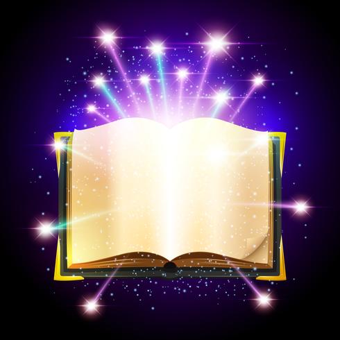 Illustration du livre magique