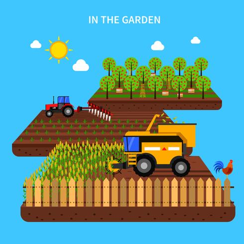 Agriculture Concept Illustration vector