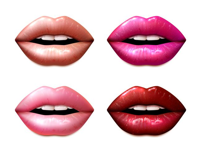 Lipstic Samples Set vector