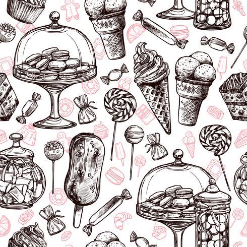 Bonbons Seamless Pattern