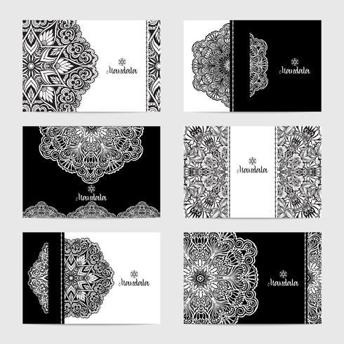 Set di carte mandala