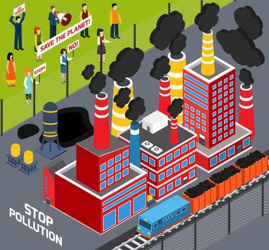 Les humains contre la pollution industrielle