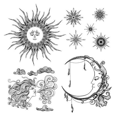 Stjärnor mån och vind