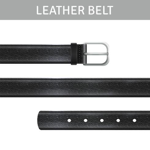 Ensemble de ceinture en cuir