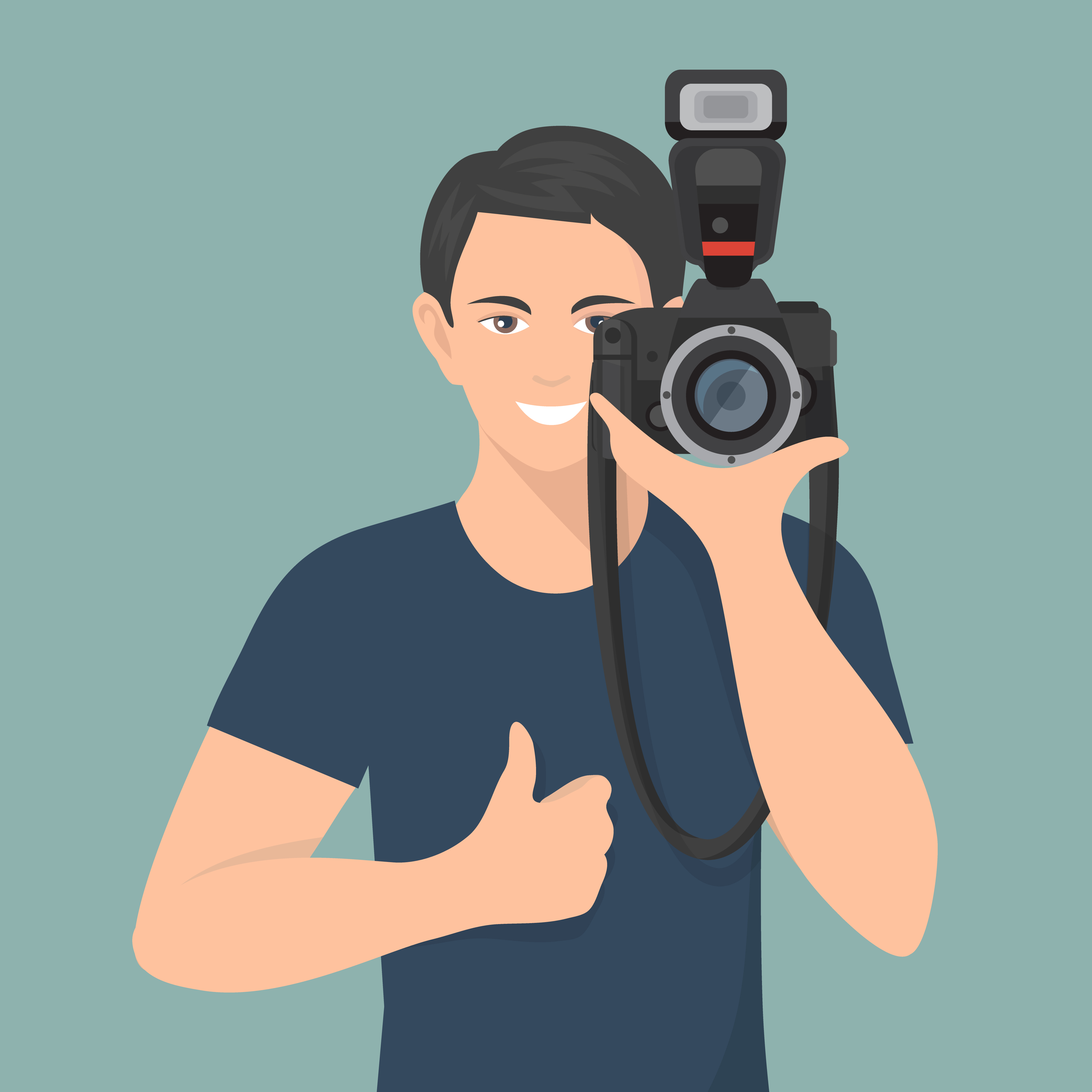 photographer flat illustration download free vectors clipart graphics vector art vecteezy