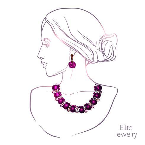 Femme et bijoux