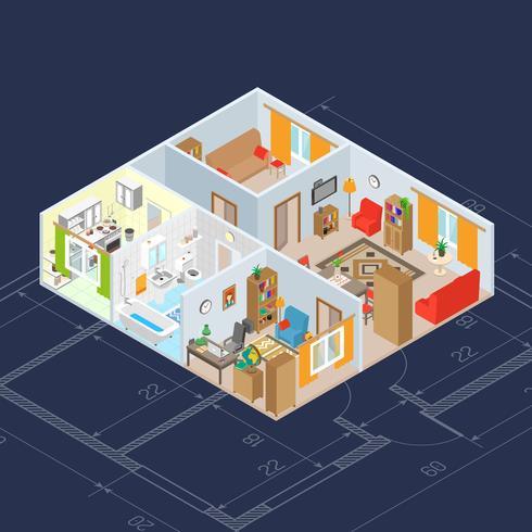Isometrica Interior Concept