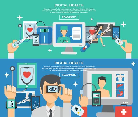 Digital Health Banner Set