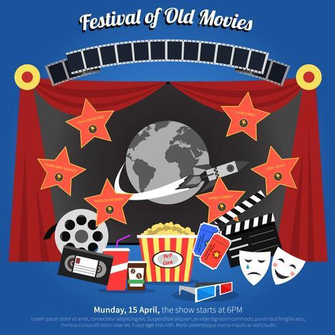 Affiche du festival du film