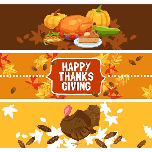thanksgiving day banner instellen