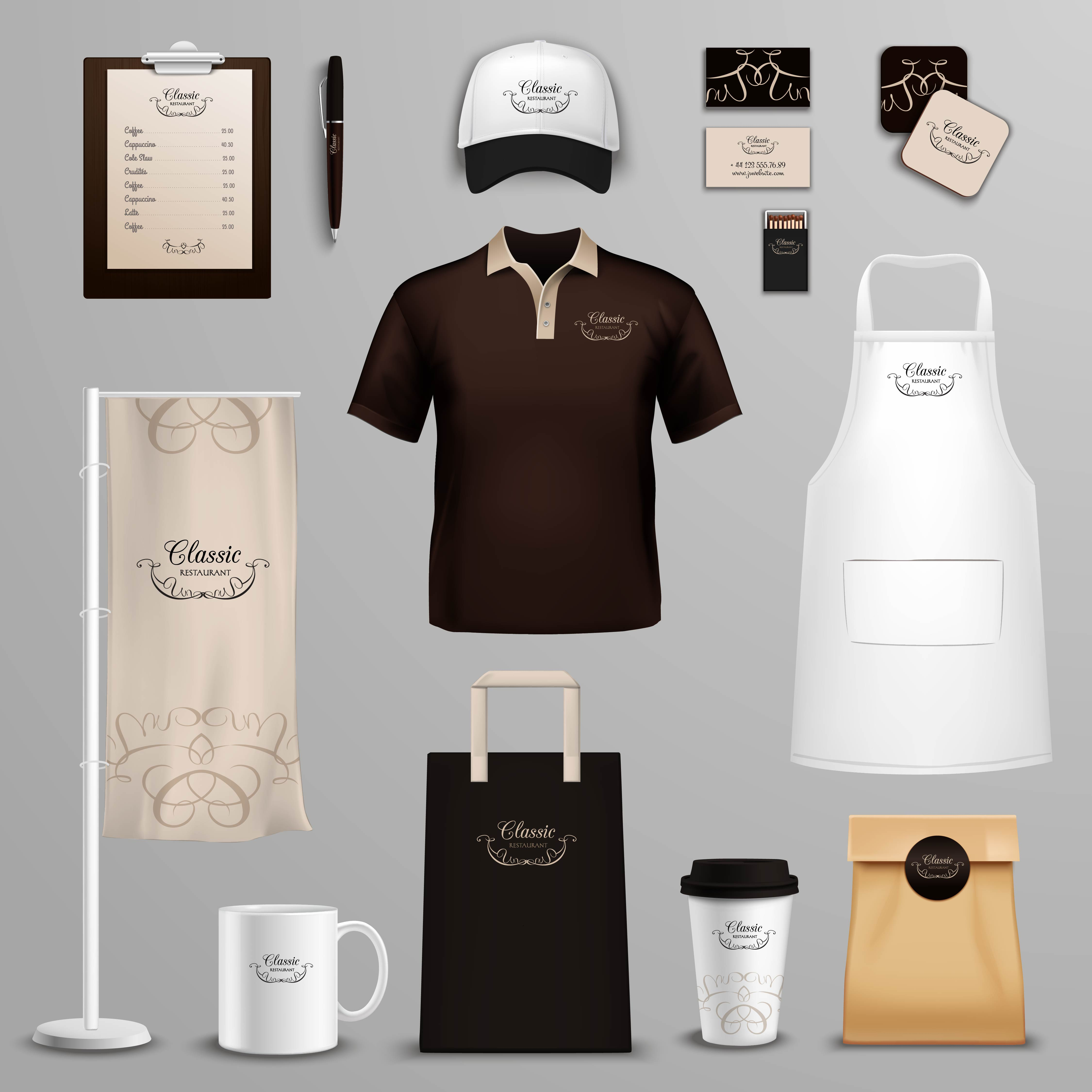 Coffee Logo Collection: Restaurant Cafe Corporate Identity Icons Set 466847