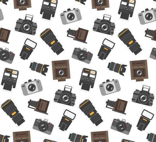 Fotografie versnelling naadloze patroon