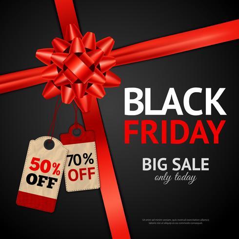 Poster van Black Friday-verkoop