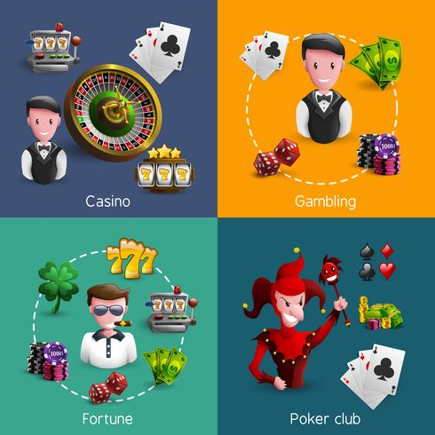 Set composizioni di Casino 2x2