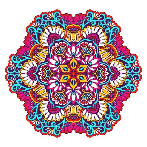 Couleur décorative mandala
