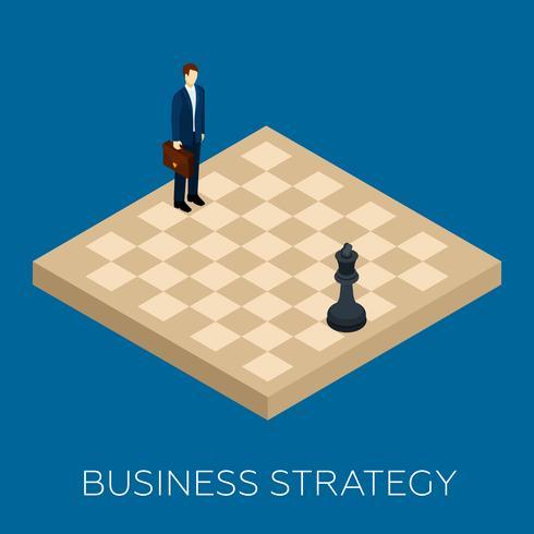 Concepto de estrategia de negocio