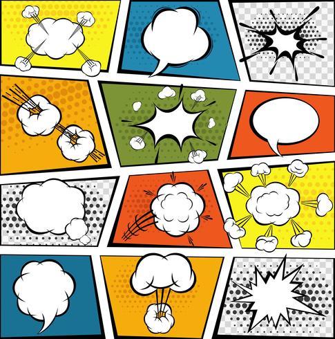 Comic Talbubblor Set