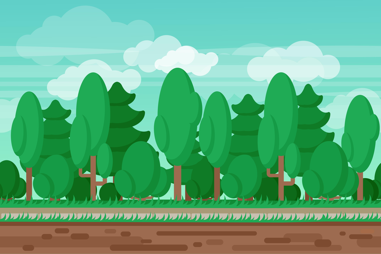 game seamless summer landscape forest background 467933 vector art at  vecteezy  vecteezy