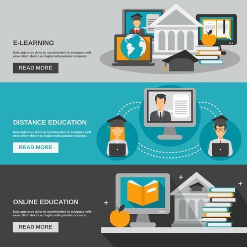E-Learning-Banner-Set