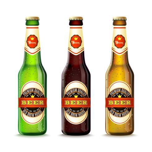 Ensemble de bouteilles de bière
