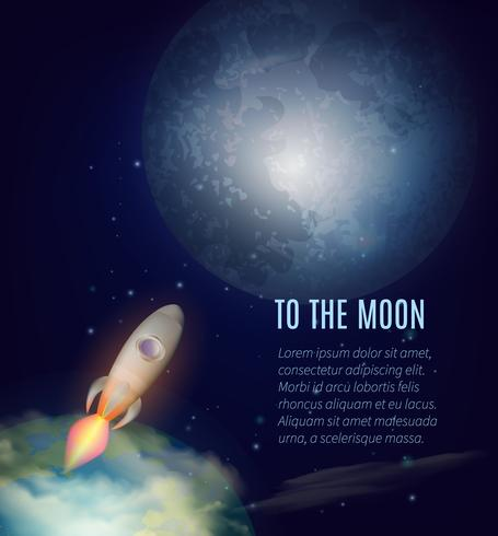 Moon Exploration Poster