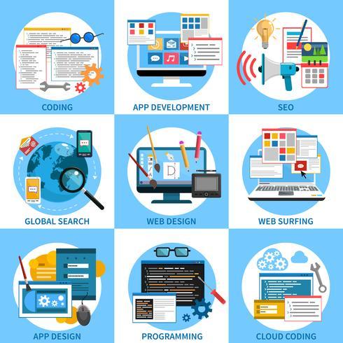 Concept de développement Web
