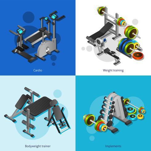Fitness Equipment Image Set