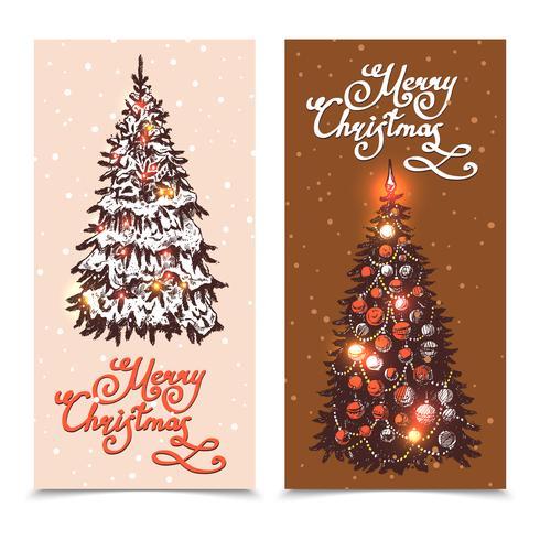 Jeu de bannière de Noël