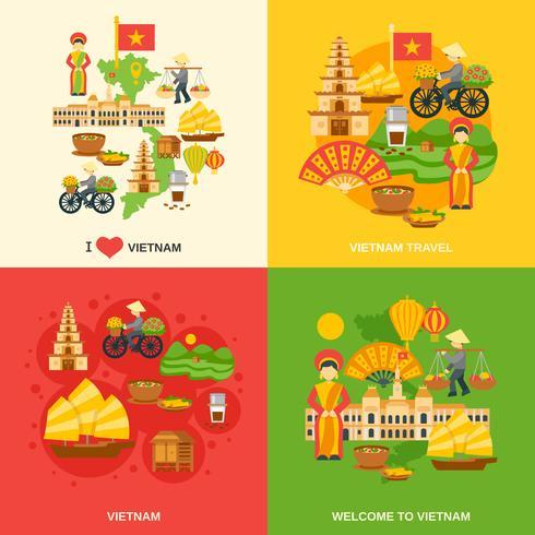 Vietnam Flat Set